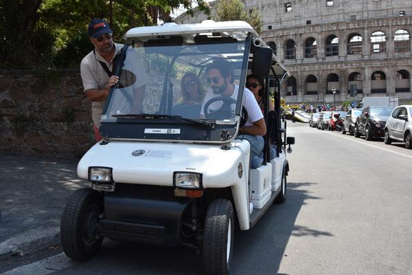 colosserum-tour-eco-golf-cart